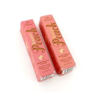 Too Faced Sweet Peach Creamy Peach Oil Lip Gloss 2